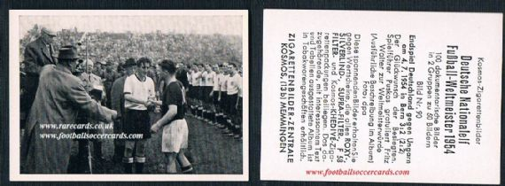 Kosmos 1954 West Germany 90 medal for Puskas